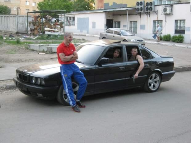 Автомобильная мода 90-х