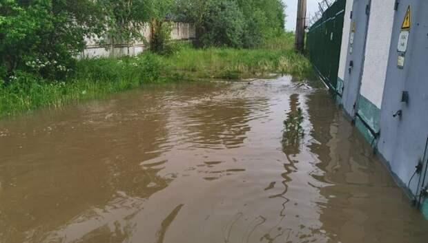 274 приусадебных участка остаются подтопленными в Подмосковье