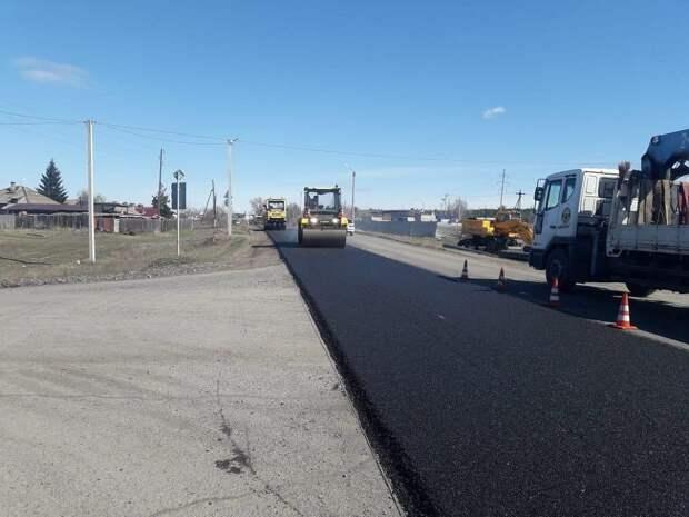 Начался ремонт дорог на юге Красноярского края