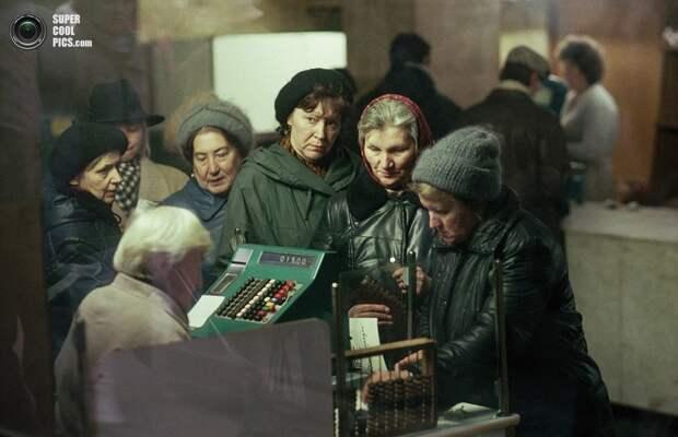 Советский Союз в 90-е гг.