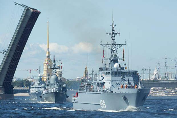 Мощь российского флота оценили в Великобритании
