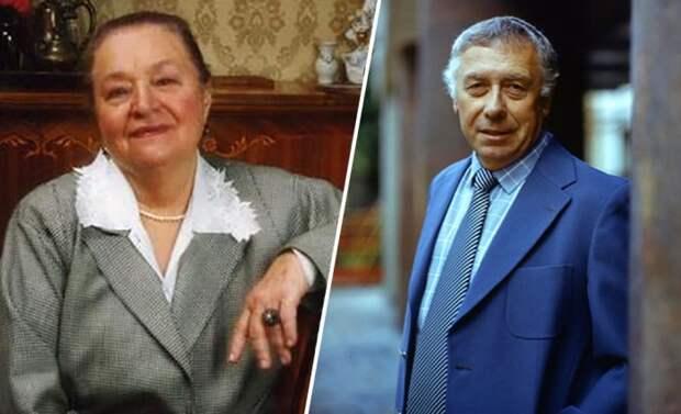 Анатолий Папанов и Надежда Каратаева.