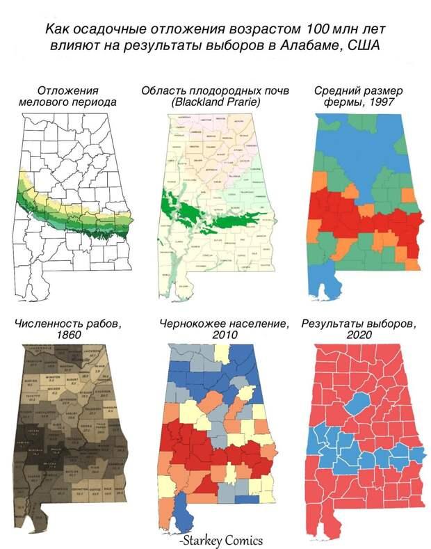 Как геология влияет на политику
