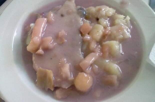 Суп из петербургских школ стыдно было даже зекам подать
