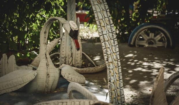 Конец покрышечных лебедей: когда Волгоград избавят от «шинного» благоустройства?