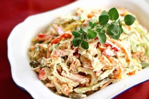 Салат с курицей и шаминьонами: особенности приготовления и разнообразные рецепты