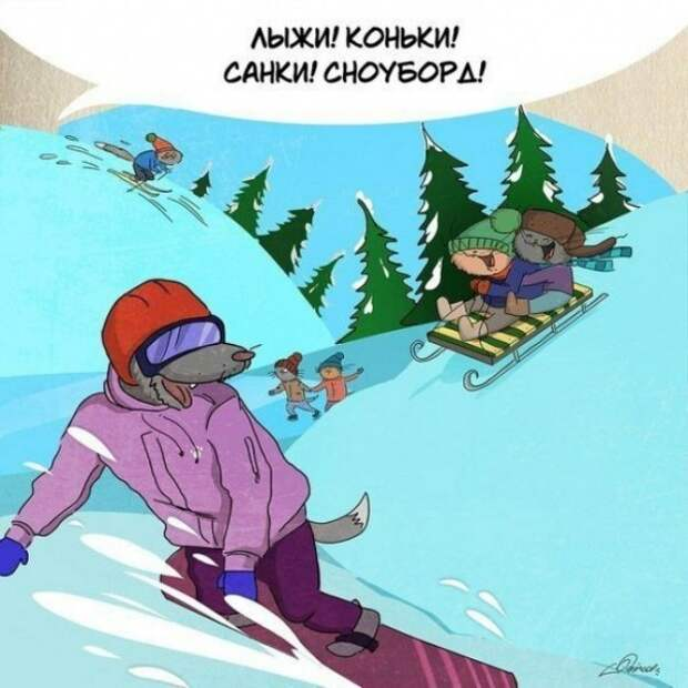 За что следует любить зиму (10 картинок)
