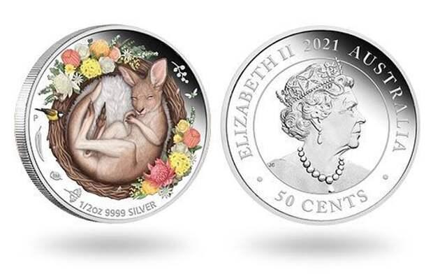 Монета в подарок от Австралии с самым узнаваемым животным материка