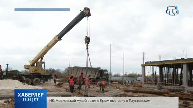 В селе Лобаново строят детский сад на 150 мест