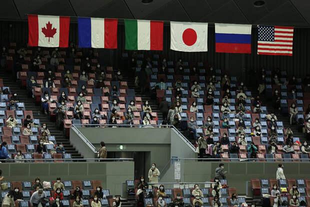 Российские фигуристы лидируют на командном ЧМ в Осаке