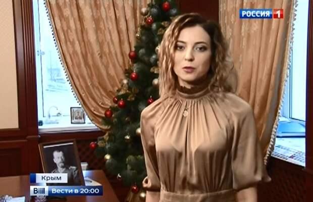 Поклонская стихотворением поздравила россиян с наступающим Новым годом (Видео)