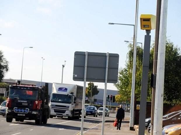 Самая доходная камера Великобритании оштрафовала водителей на миллион евро
