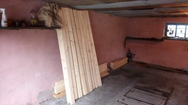 Закупка материалов (сосновая вагонка) баня, своими руками, сделай сам
