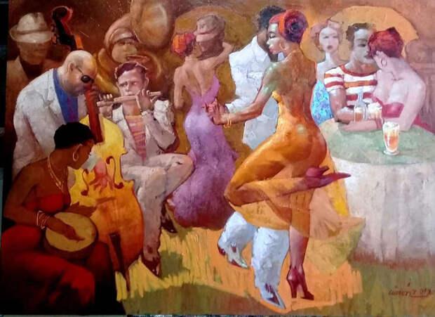 Обнаженная натура в изобразительном искусстве разных стран. Часть 142.