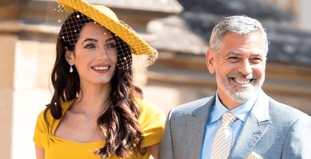 Джордж Клуни поссорился с Элтоном Джоном из-за Меган и Гарри