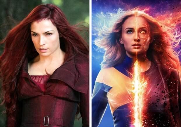 Как выглядят героини знаменитых фильмов в исполнении новых