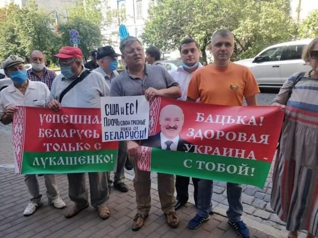 Граждане Украины вступились за Белоруссию, пообещав Западу проблемы