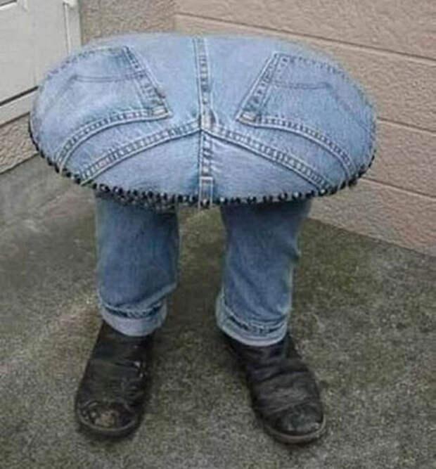 Что можно сделать из старых джинсов - идеи