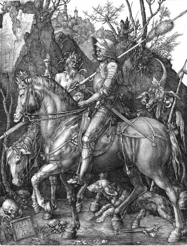 Мистика в легендарной картине «Рыцарь, Смерть и Дьявол»