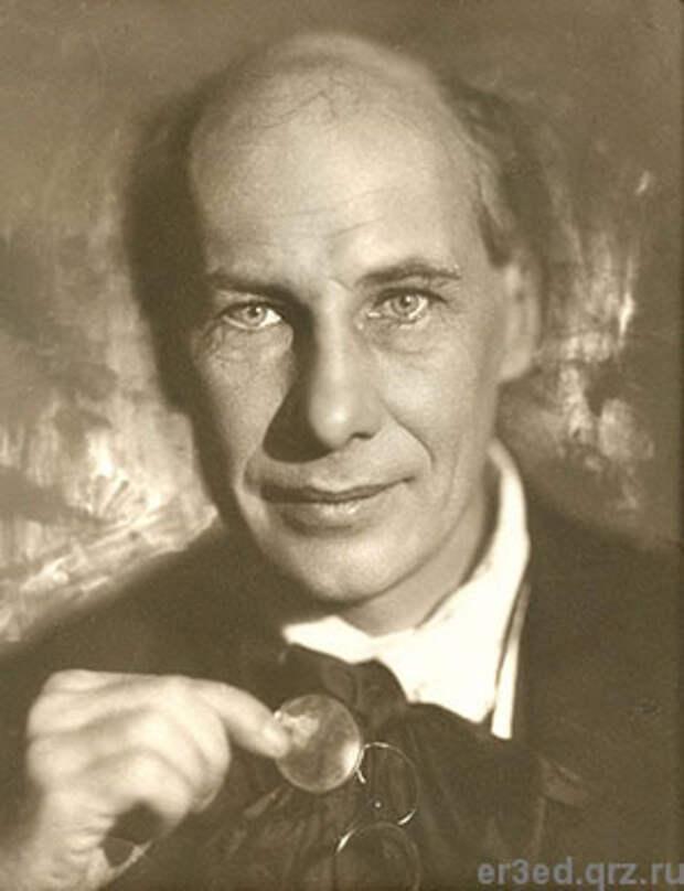 Андрей Белый. Фото М.С.Наппельбаума. 1929