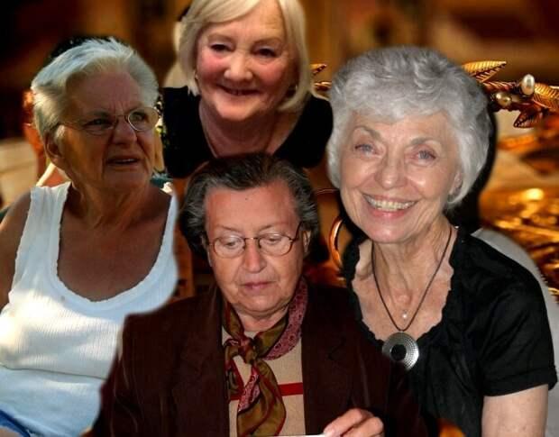 """Четыре пенсионерки проживают вместе, """"колхозом"""" - вот как это у них получается"""