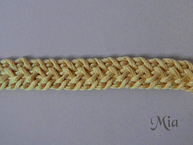 Мастер-класс по вязанию шнура | Ярмарка Мастеров - ручная работа, handmade