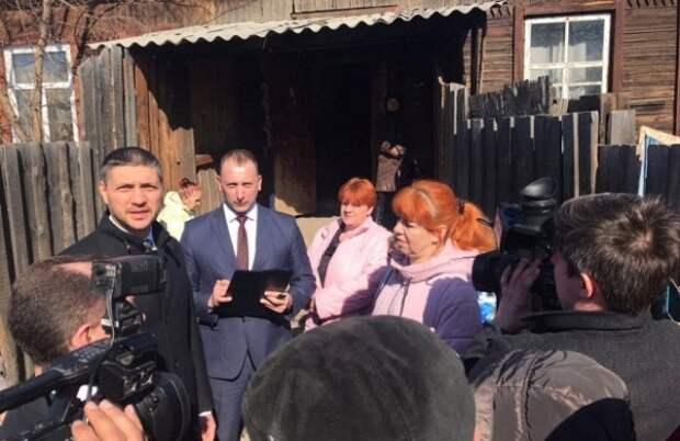 Глава Забайкальского края снова расплакался на встрече с многодетной матерью из Читы