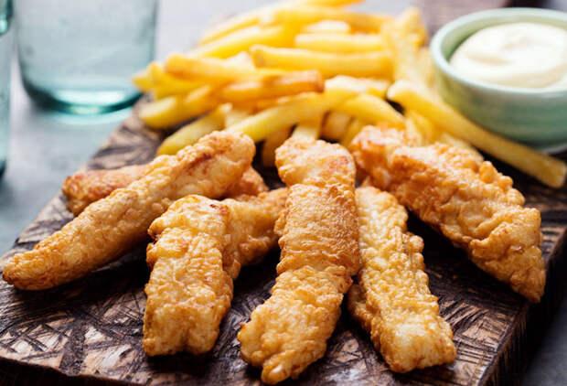 Фиш и чипс: еда на каждый день
