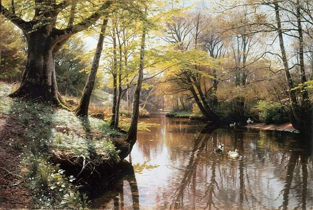 Река весной, 1914 год
