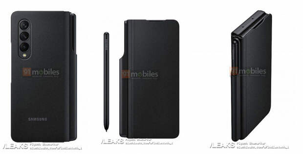 Samsung создала новый стилус S Pen Fold Edition специально для Galaxy Z Fold3