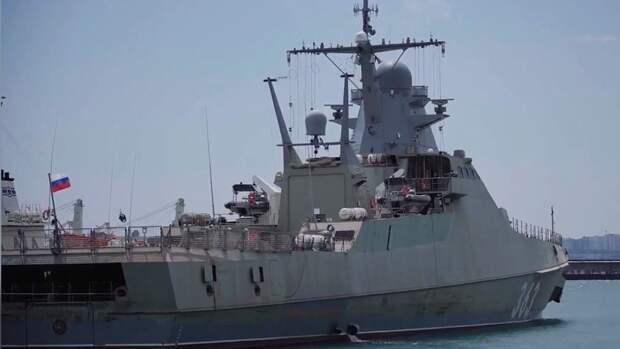 Проход сторожевого корабля «Павел Державин» вблизи Одессы вызвал истерику на Украине