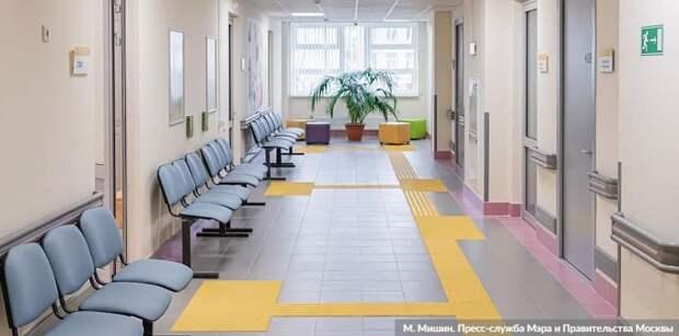 Собянин: За пять лет обновим половину амбулаторного фонда Москвы
