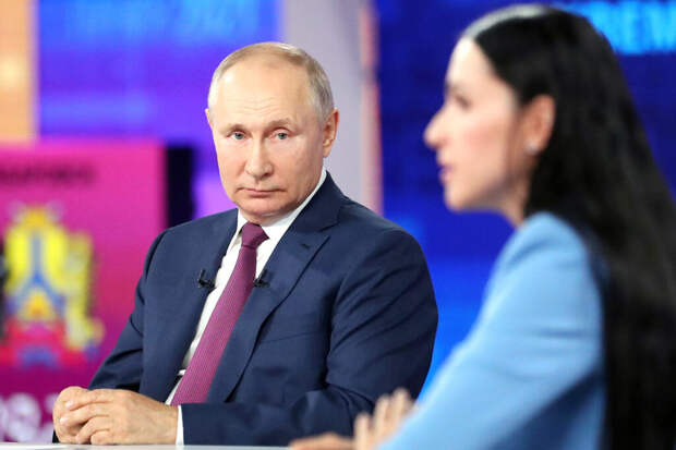 Прямая линия Владимира Путина в цитатах