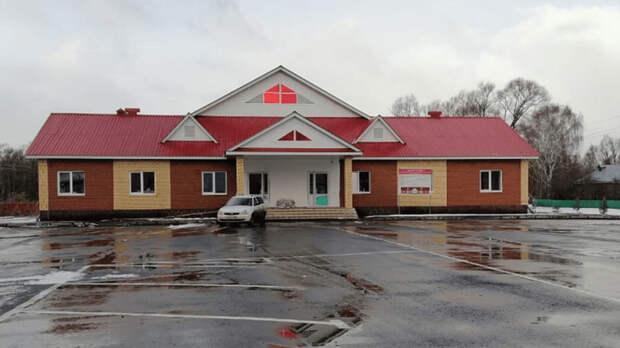 Власти Башкортостана построили Дом культуры в селе Ябалаково всего за год