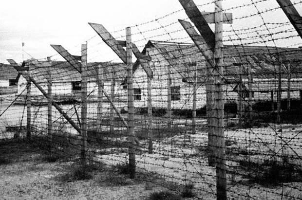 Финский концентрационный лагерь в городе Медвежьегорске.