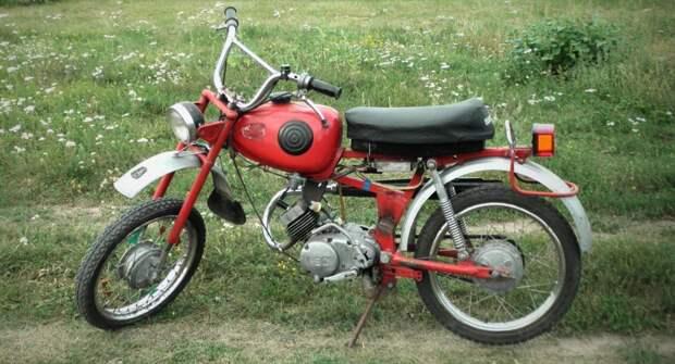 Карпаты — самый популярный мопед в СССР
