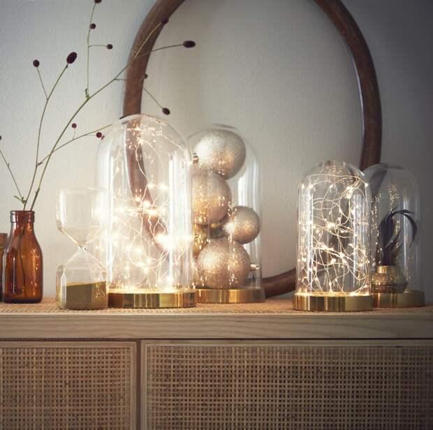 Как украсить однокомнатную квартиру к Новому году (67 фото)