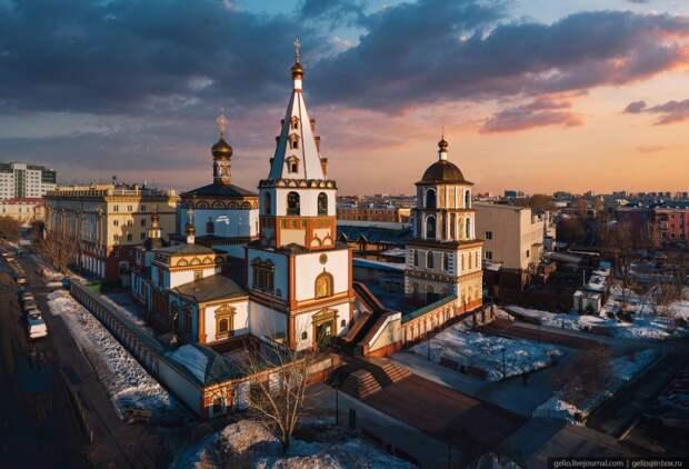 Иркутск с высоты – культурная столица Восточной Сибири