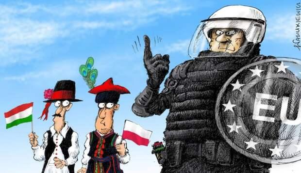 Венгрия и Польша нарушили общееврогейское законодательство