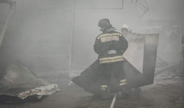 Под Оренбургом на пожаре погибла пожилая женщина