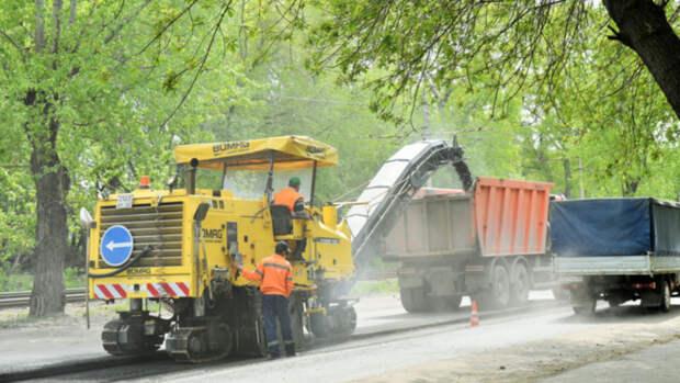 Еще на четырех улицах Барнаула начался ремонт дорог по нацпроекту БКАД