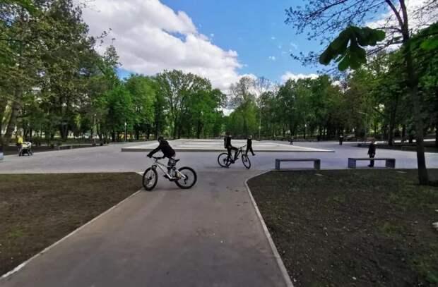 Работы по восстановлению парка «Алунелул» приближаются к финишу