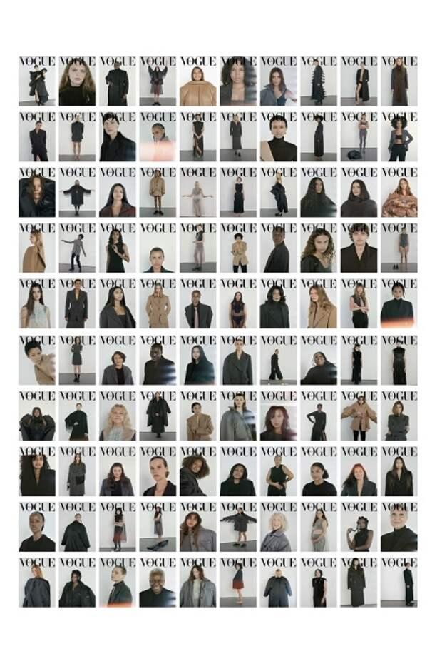 100 обложек итальянского Vogue