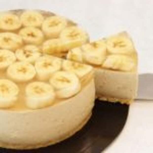 Банановый чизкейк без выпечки.