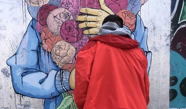 Авторы рисунков на подпорных стенах Владивостока могут оказаться за решеткой