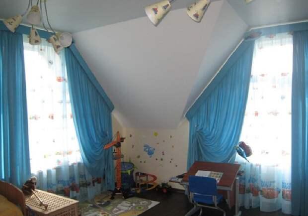 Шторы в детскую комнату: как выбрать лучшую модель (136 фото)