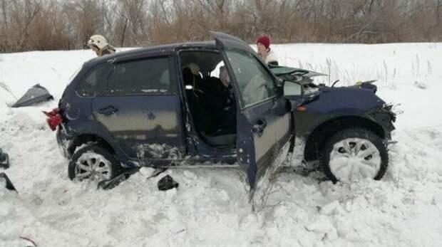 Страшное ДТП в Переволоцком районе унесло жизнь водителя  «Лады Калины»