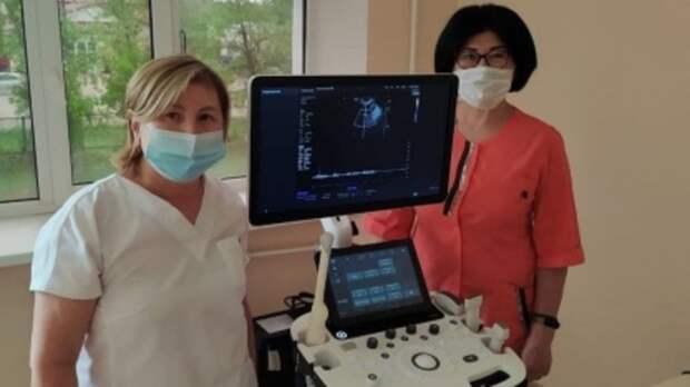 В Ташлинской районной больнице появился новый аппарат УЗИ
