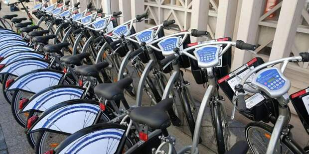 Сеть велопроката в Москве заработает в полном объеме с 1 июня