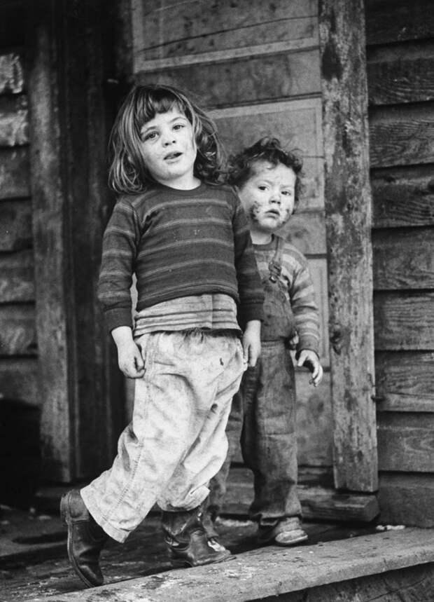 Штат Кентукки 1960-х годов в фотопроекте «Долина бедности»